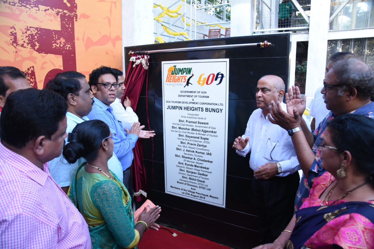 Goa Tourism in association with Jumping Heights launches